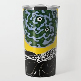 "Art Deco Design ""Selection of the Heart"" Travel Mug"