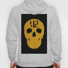 Pittsburgh 412 Steel City Skull Design Hoody