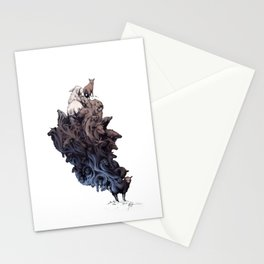 Did you see the Wolf? Stationery Cards