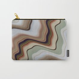 Marble Earth Carry-All Pouch