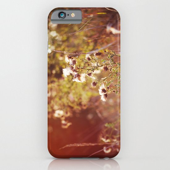 golden dandelions. iPhone & iPod Case