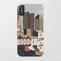 ohio iPhone & iPod Cases featuring Columbus, Ohio by Sam Brewster
