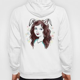 Girl with Rabbit Ears Hoody