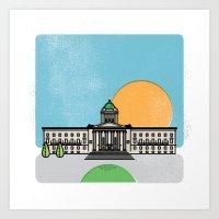 Manitoba Legislature Art Print