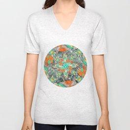 Earth/Fox Unisex V-Neck