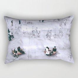 Les Halles, Paris Rectangular Pillow