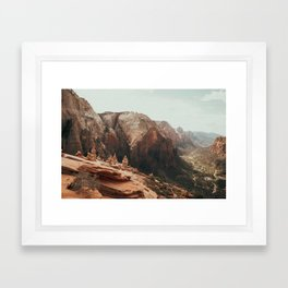 When We Remembered Zion Framed Art Print