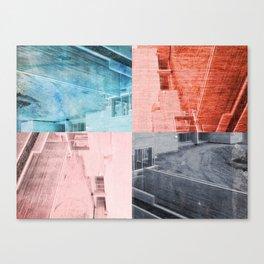 Popart Building Canvas Print