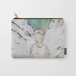 Abstract Angel Painting Carry-All Pouch