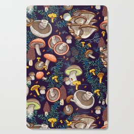 Dark dream forest Cutting Board