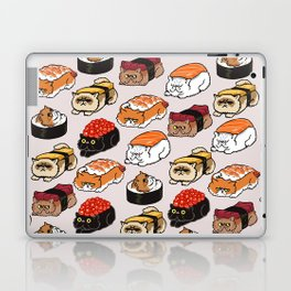 Sushi Persian Cat Laptop & iPad Skin