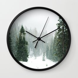 Winter Pace Wall Clock