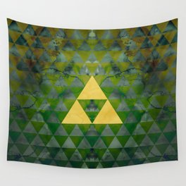 Link Geometry Wall Tapestry