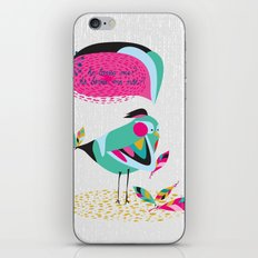 he loves me / he loves me not? iPhone & iPod Skin