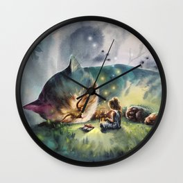 The second story Wall Clock