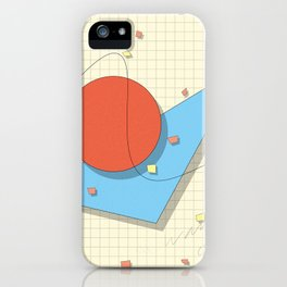 Math Class by Jens Ingelse iPhone Case