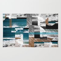 surf Area & Throw Rugs featuring surf by MK0S