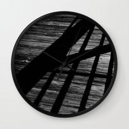 Intersecting Wall Clock