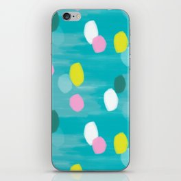 Spotty Green iPhone Skin