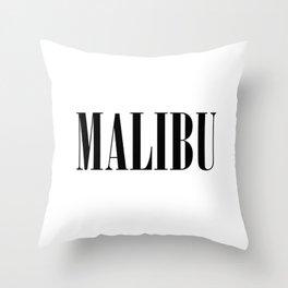 Malibu Throw Pillow