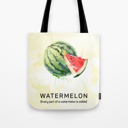 Fun with Fruits - Watermelon Tote Bag