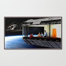 Original Series Inspired Nighthawks Canvas Print