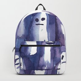 ghost watercolor Backpack