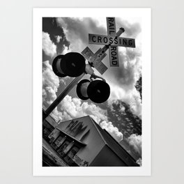 {Streets of NOLA} Art Print