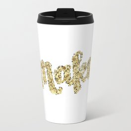 Make Glitter Travel Mug