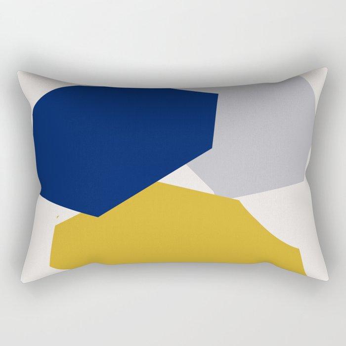 Abstraction_SHAPES_003 Rectangular Pillow