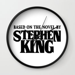 Based on the Novel Wall Clock