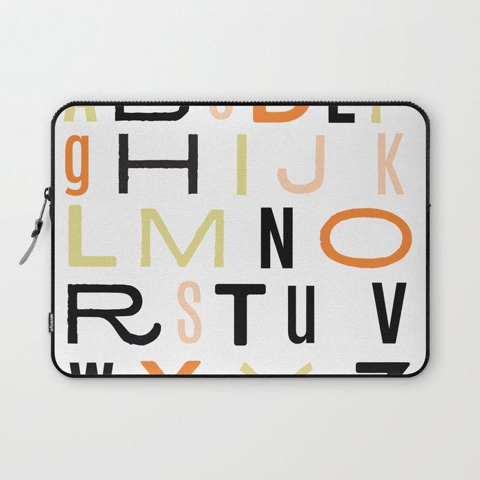 Eclectic Alphabet Laptop Sleeve