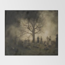 Unsettling Fog Throw Blanket