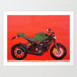 Ducati Monster Diesel Bike Art Print