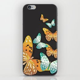 live your life beautifully iPhone Skin