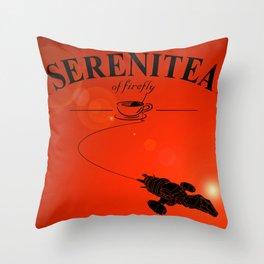 SereniTea Throw Pillow