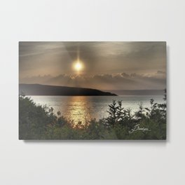 Clouds from Heaven Metal Print