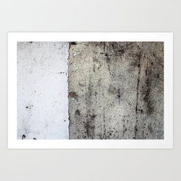 Cracked Paint 8 - CoOperative Art Print