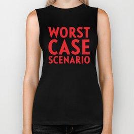 Worst Case Scenario Biker Tank