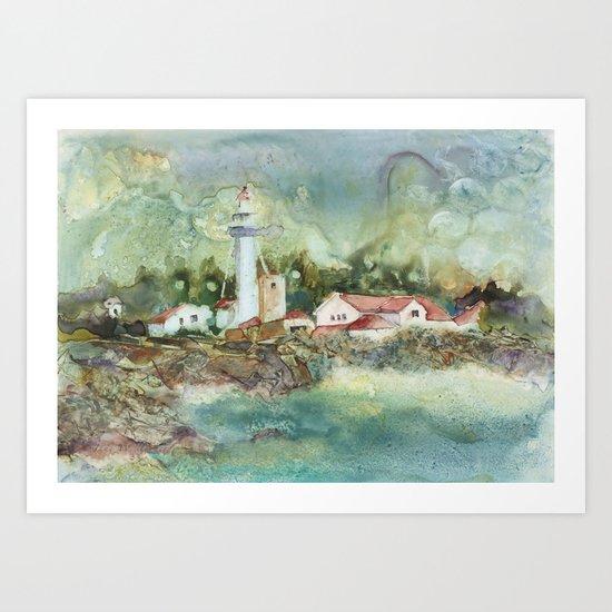 Whitefish Point Art Print
