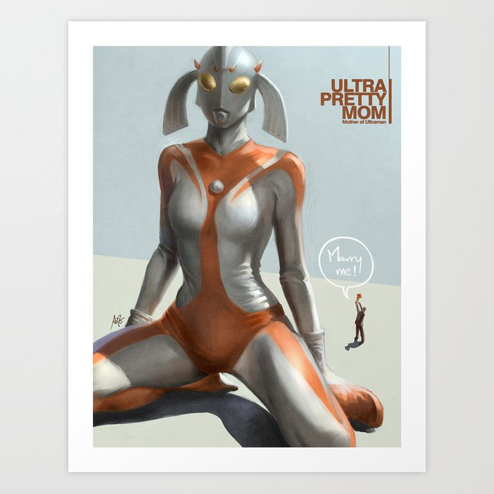 Discover the motif ULTRA PRETTY MOM by Stanley Artgerm Lau as a print at TOPPOSTER