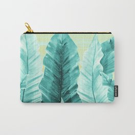 Underwater Leaves Vibes #3 #decor #art #society6 Carry-All Pouch