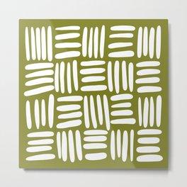 Boho (matcha green) Metal Print