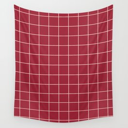 Chili Grid Wall Tapestry
