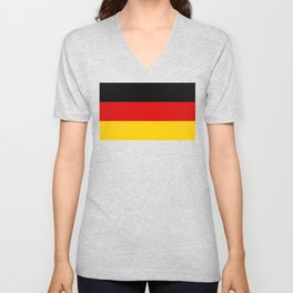 National flag of Germany Unisex V-Neck