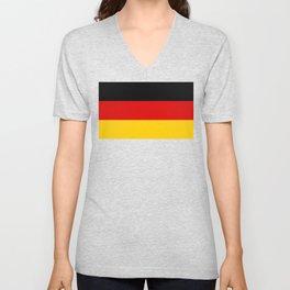 Flag of Germany Unisex V-Neck