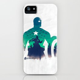 captain in the war iPhone Case