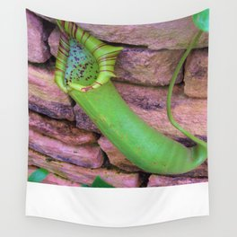 The Amazing Pitcher Plant. Wall Tapestry