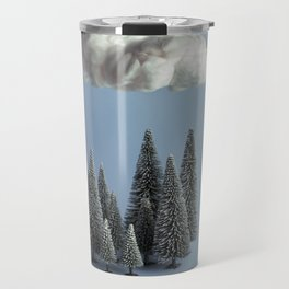 A cloud over the forest Travel Mug