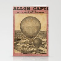 ballon Stationery Cards featuring Ballon Captif by DAChiemsee